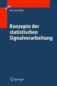 Konzepte der statistischen Signalverarbeitung