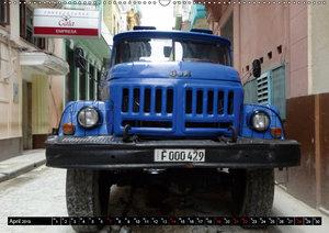 Sowjetische LKW auf Kuba (Wandkalender 2019 DIN A2 quer)
