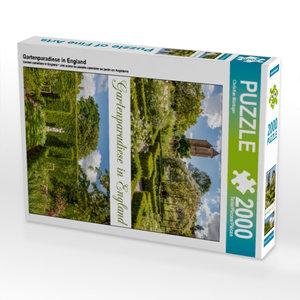 Gartenparadiese in England 2000 Teile Puzzle hoch