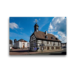 Premium Textil-Leinwand 45 cm x 30 cm quer Altes Rathaus Kelkhei