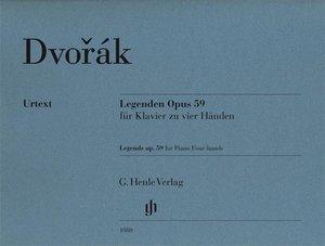 Legenden op. 59 für Klavier zu vier Händen