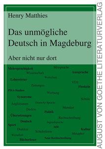 Das unmögliche Deutsch in Magdeburg