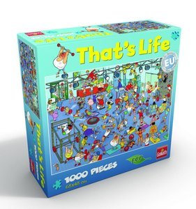 "That\'s Life Puzzle ""The Gym\"""