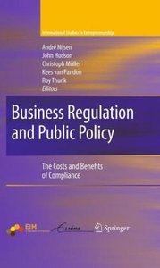 Business Regulation and Public Policy