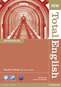 New Total English Intermediate Teacher\'s Book and Teacher\'s Re