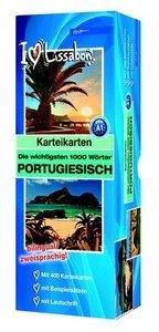 Karteikartenbox 1000 Wörter Portugiesisch Niveau A1