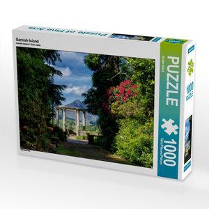Garnish Island 1000 Teile Puzzle quer