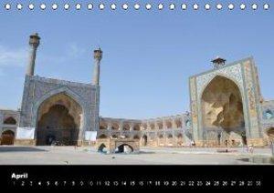 IRAN / UK-Version (Table Calendar perpetual DIN A5 Landscape)
