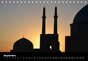 IRAN / UK-Version (Table Calendar perpetual DIN A5 Landscape)