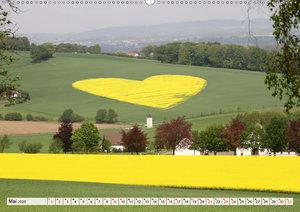 Land und Liebe(Premium, hochwertiger DIN A2 Wandkalender 2020, K