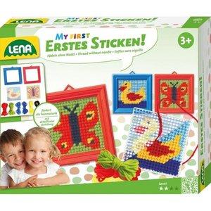 Simm 42685 - LENA®, Erstes Sticken, Tierformen, Schmetterling, E