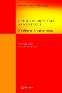 Optimization Theory and Methods