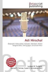 Adi Hirschal