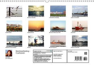 Nordseefeeling - Cuxhaven (Wandkalender 2019 DIN A3 quer)