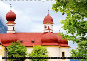 St. Bartholomä und der Königssee (Wandkalender 2020 DIN A2 quer)