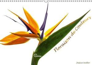 Floraison de couleurs (Calendrier mural 2015 DIN A3 horizontal)
