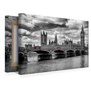 Premium Textil-Leinwand 45 cm x 30 cm quer LONDON Westminster Br