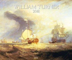 William Turner 2018. Kunst Art Kalender