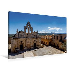 Premium Textil-Leinwand 75 cm x 50 cm quer Arkadi-Kloster das be