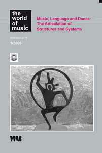Music, Language and Dance 1/2000