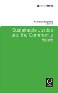 Sustainable Justice and the Community