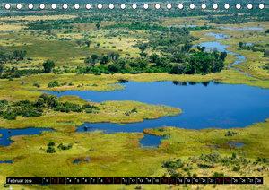 Faszination Botswana (Tischkalender 2019 DIN A5 quer)