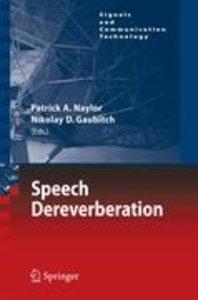 Speech Dereverberation