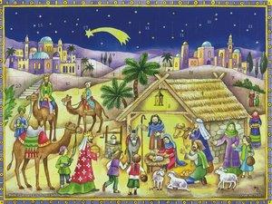 """Adventskalender \""""Bethlehem\"""""""