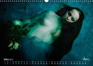 OPHELIA, sinnlich - mystisch - sehnsuchtsvoll (Wandkalender 2019