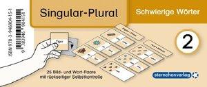 Meine Grammatikdose 2 - Singular-Plural - Schwierige Wörter