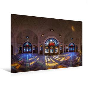 Premium Textil-Leinwand 120 cm x 80 cm quer Panorama vom Tabatab