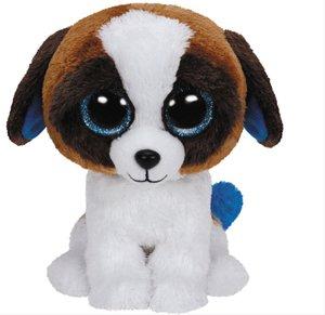 Duke Buddy - Hund weiss/braun, 24cm