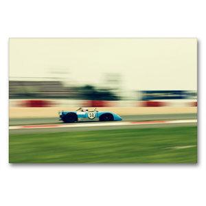 Premium Textil-Leinwand 90 cm x 60 cm quer Supersports Racing