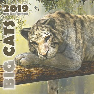 Big Cats 2019 Mini Wall Calendar