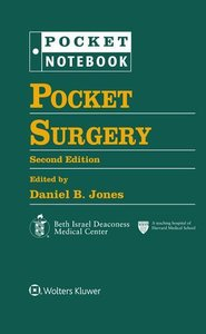 Pocket Surgery (Pocket Notebook Series)