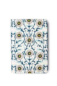Notizbuch bestickt, Design Blüten
