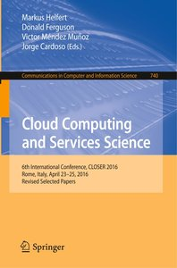 Cloud Computing and Services Science