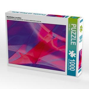 Nächtliches Leuchten 1000 Teile Puzzle quer