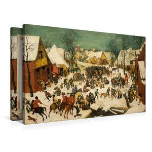 Premium Textil-Leinwand 90 cm x 60 cm quer Bethlehemischer Kinde