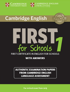 Cambridge English First for Schools 1 for updated exam. Student'