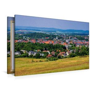 Premium Textil-Leinwand 120 cm x 80 cm quer Goslar