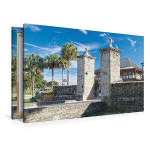 Premium Textil-Leinwand 120 cm x 80 cm quer St. Augustine
