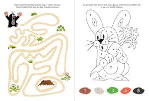 Spiel-und Malbuch Der kleine Maulwurf