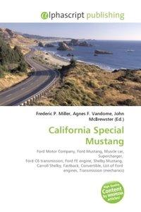 California Special Mustang