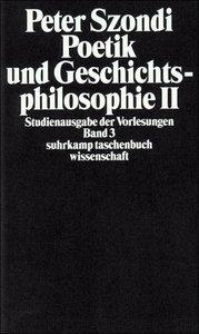 Poetik und Geschichtsphilosophie 2