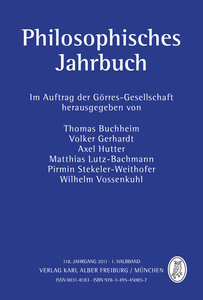 Philosophisches Jahrbuch 118.1 Jahrgang 2011