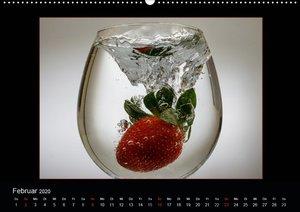 Aquarell der Vitamine ? Wenn Obst baden geht