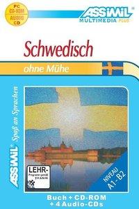 Assimil. Schwedisch ohne Mühe. Multimedia-PLUS. Lehrbuch und 4 A