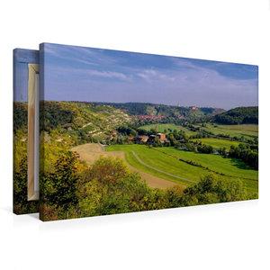 Premium Textil-Leinwand 75 cm x 50 cm quer Freyburg