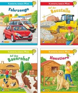 Nelson Mini-Bücher - Kinderwissen Minis, Nr.1-4